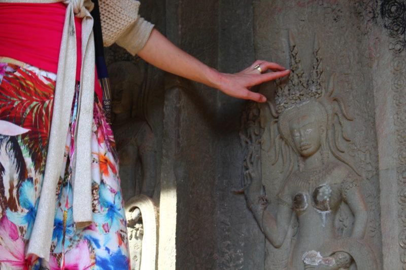 Angkor Wat, bij dansende yogini's